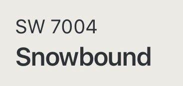sw 7004 snowbound